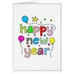 Feliz Año Nuevo Tarjeton
