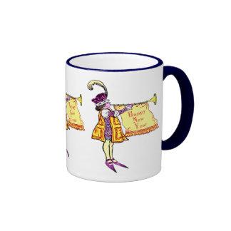 Feliz Año Nuevo Tazas De Café