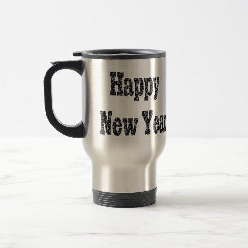 Feliz Año Nuevo Tazas
