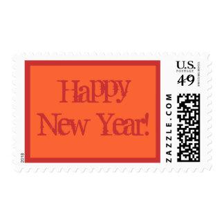 ¡Feliz Año Nuevo! Timbre Postal