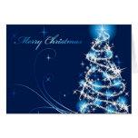 Feliz árbol de navidad felicitación