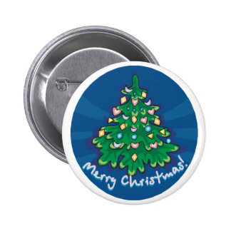 Feliz árbol de navidad pins