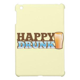 ¡Feliz bebido! diseño con una cerveza y una cabeza