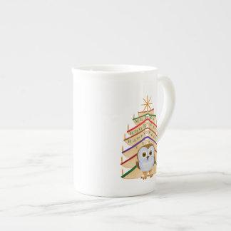 Feliz Bookmas Taza De Porcelana