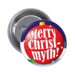 Feliz botón de Christmyth Pin