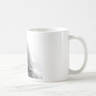 Feliz brillante taza