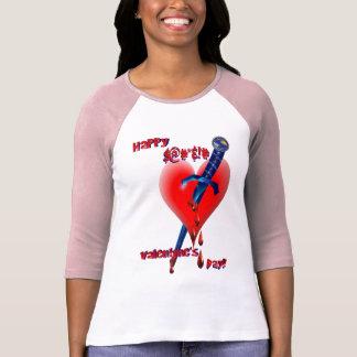 ¡$@#*& feliz! # camisa del día de Valenday