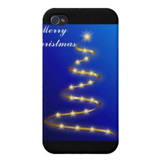 Feliz caso del iPhone 4 de Navidad iPhone 4 Carcasas