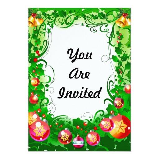 Feliz celebración invitación 12,7 x 17,8 cm