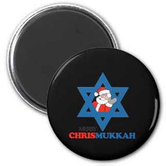 Feliz Chrismukkah - Imán De Frigorífico