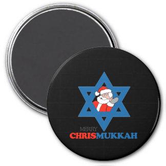 Feliz Chrismukkah - Imán Para Frigorífico