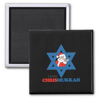 Feliz Chrismukkah - Imanes Para Frigoríficos