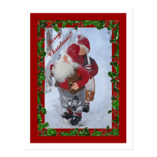 Feliz Christmas1 Postal