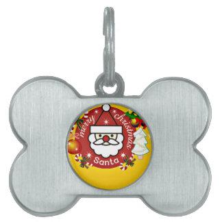 Feliz Christmas#4_ Placas De Mascota