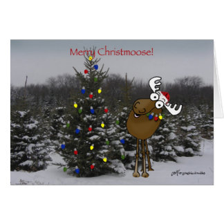¡Feliz Christmoose! Felicitacion