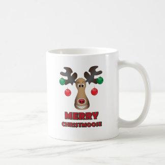 ¡Feliz Christmoose! Tazas