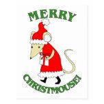 Feliz Christmouse Postal