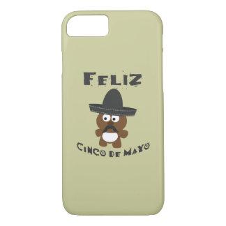 Feliz Cinco De Mayo Bear iPhone 7 Case