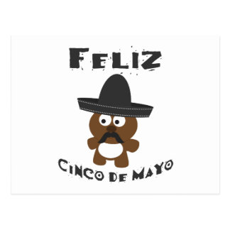 Feliz Cinco De Mayo Bear Postcard