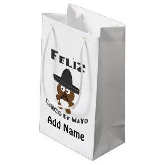 Feliz Cinco De Mayo Bear Small Gift Bag
