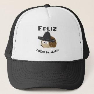 Feliz Cinco de Mayo - Hedgehog Trucker Hat