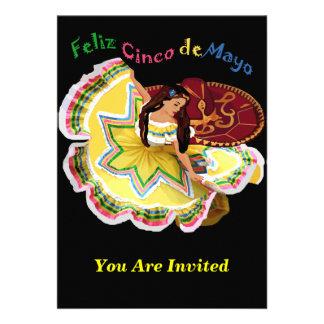 Feliz Cinco de Mayo Invitations