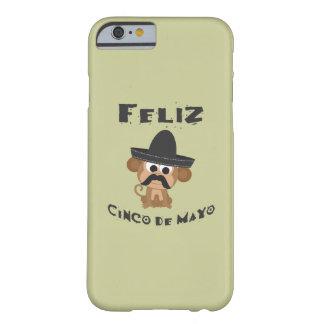 Feliz Cinco De Mayo Monkey Barely There iPhone 6 Case