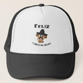 Feliz cinco de Mayo - Monkey Trucker Hat