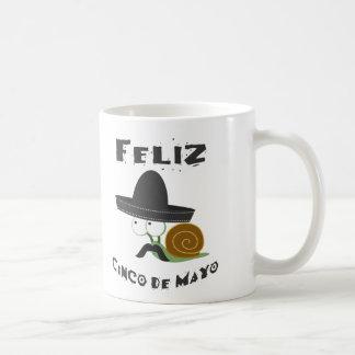 Feliz Cinco De Mayo - Snail Coffee Mug