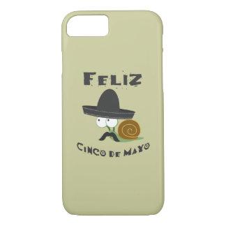 Feliz Cinco De Mayo Snail iPhone 7 Case