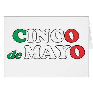 Feliz CINCO de MAYO tarjeta Stationery Note Card
