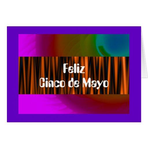 Feliz Cinco de Mayo Tarjeta De Felicitación
