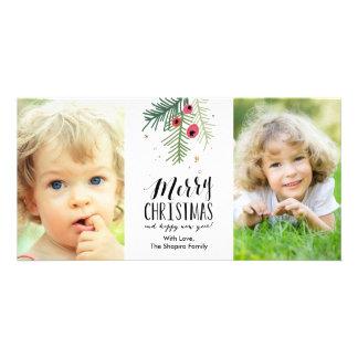 Feliz colección de la baya tarjeta fotográfica personalizada