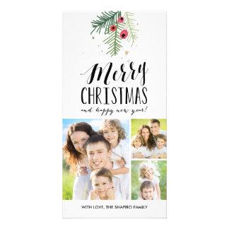 Feliz colección de la baya tarjetas fotograficas personalizadas