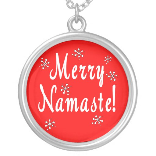 Feliz collar de Namaste