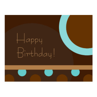 ¡Feliz cumpleaños! 103 retros Tarjeta Postal