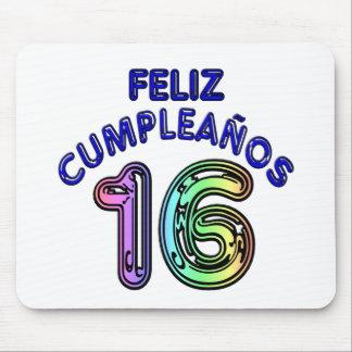 Feliz Cumpleaños 16 Mouse Pad