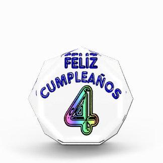 Feliz Cumpleaños 4 Award