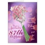 ¡Feliz cumpleaños! - 87.a tarjeta de felicitación