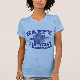 Feliz cumpleaños a ** agujero polera