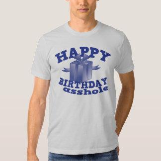 Feliz cumpleaños a ** agujero remera