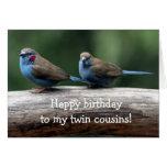 Feliz cumpleaños a la tarjeta de cumpleaños de los