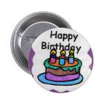 Feliz cumpleaños a mí (arte) pins