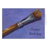 Feliz cumpleaños a mi artista preferido: Brocha Felicitación