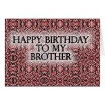 Feliz cumpleaños a mi Brother Felicitacion