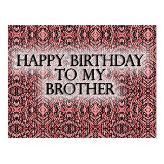 Feliz cumpleaños a mi Brother Postales