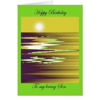 feliz cumpleaños a mi cheason cariñoso del brenda tarjeta de felicitación