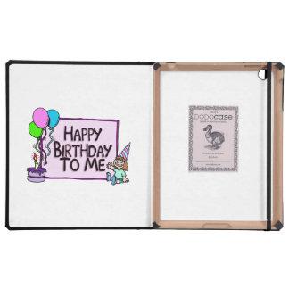 Feliz cumpleaños a mí chica iPad carcasa