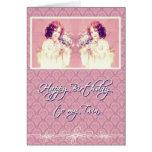 feliz cumpleaños a mi hermana gemela tarjetas
