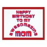 ¡Feliz cumpleaños a mi MAMÁ de AWESOMAZING! Anuncios Personalizados